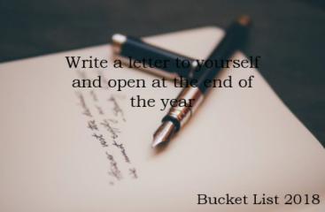 Bucket List Letter