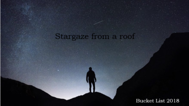 Bucket List Stargazing