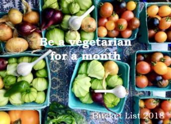 Bucket List Vegetarian