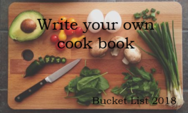 Cookbook Bucket List