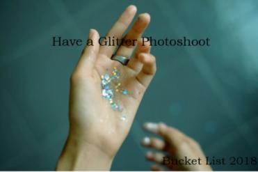 Glitter Photoshoot Bucketlist