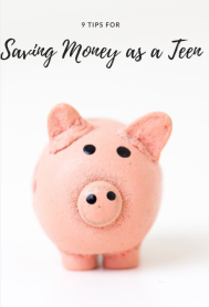 Saving Money as a Teen