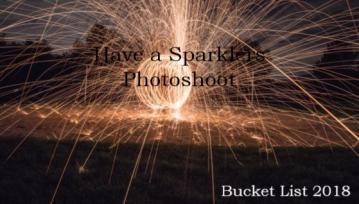 Sparklers Bucket List