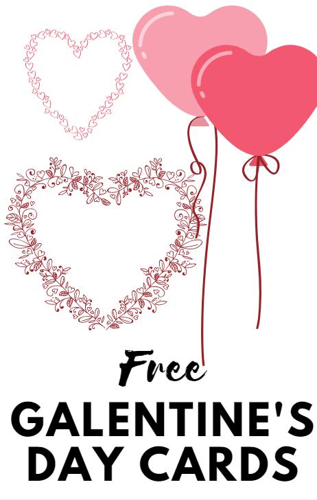 Galentine's day logo